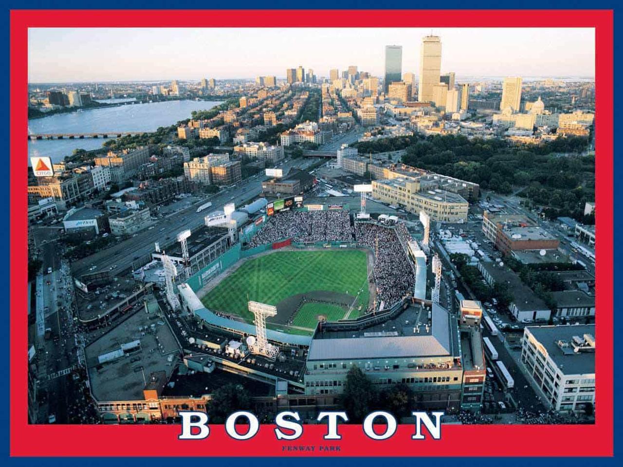 Boston - Fenway Park Sports Jigsaw Puzzle