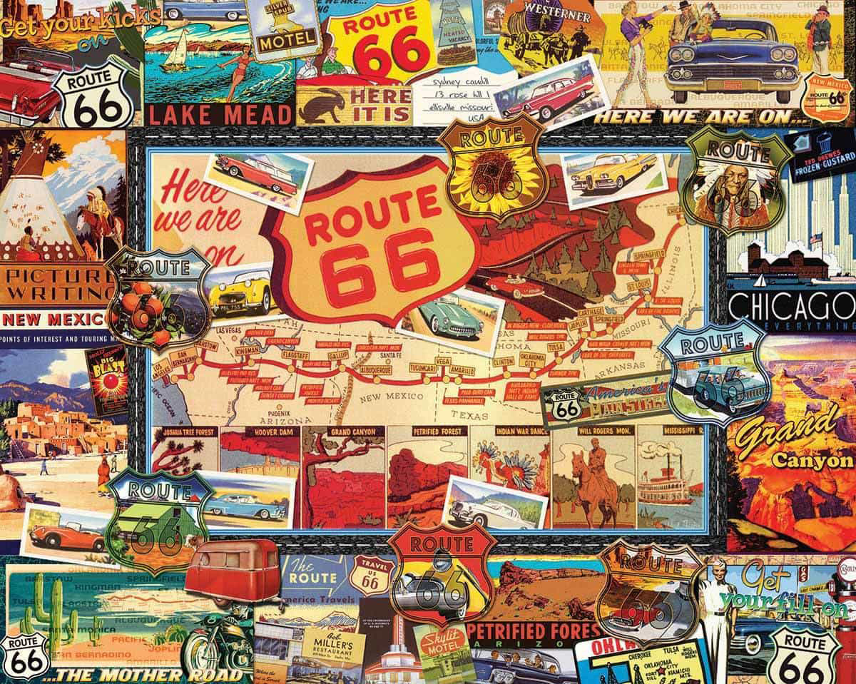 Route 66 Travel Jigsaw Puzzle