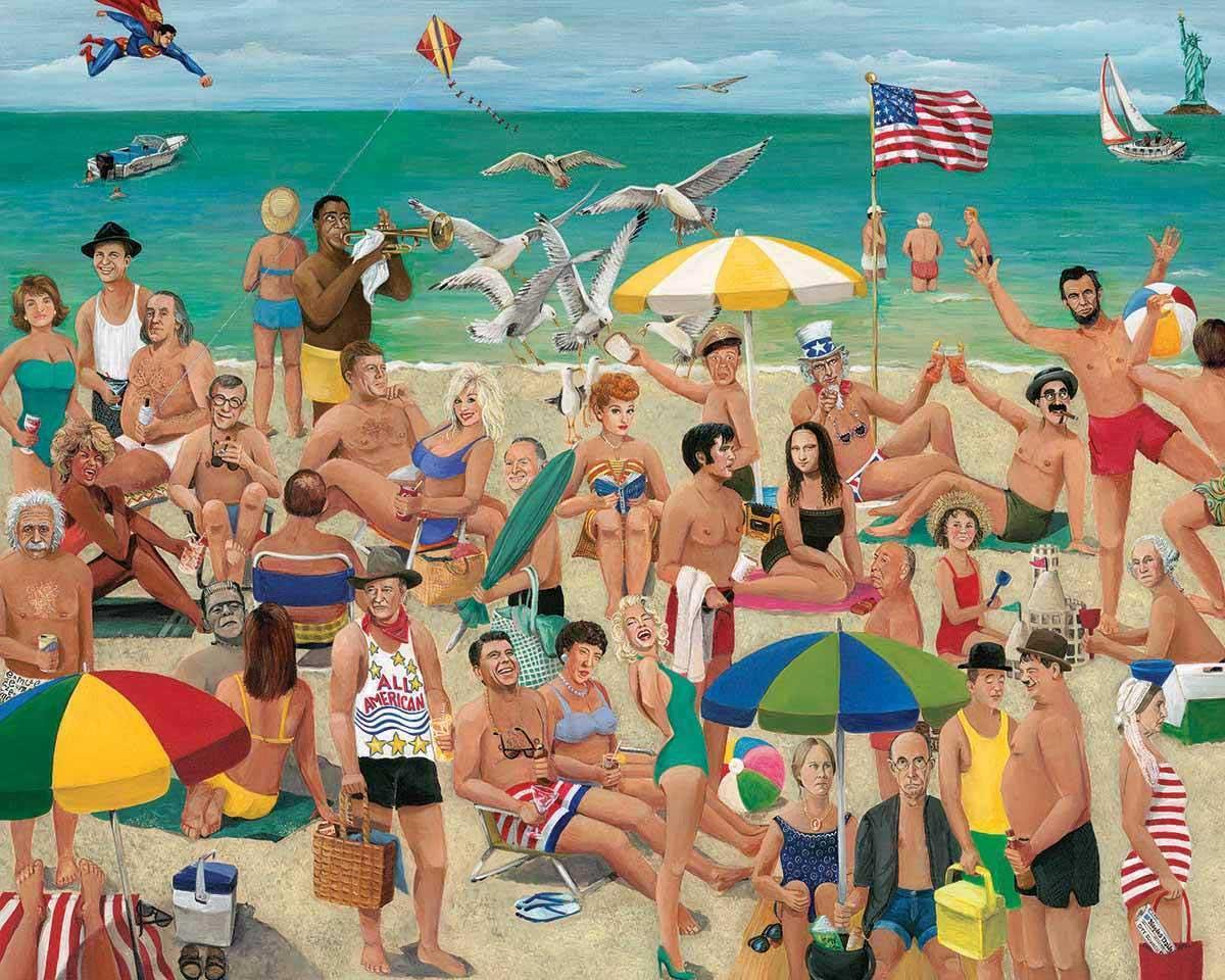 What a Beach! Beach Jigsaw Puzzle