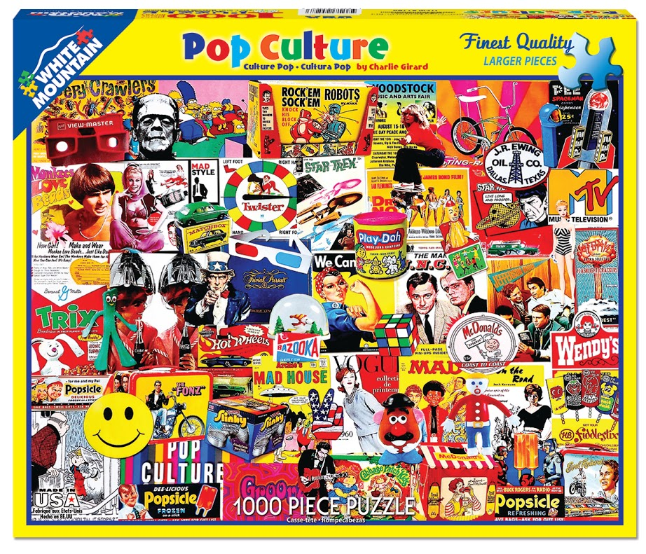 Pop Culture - Scratch and Dent Famous People Jigsaw Puzzle