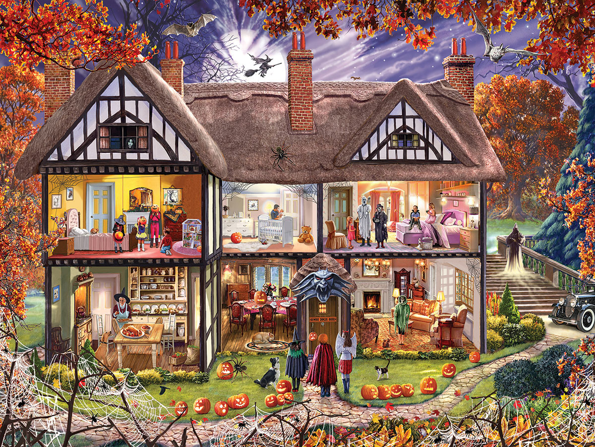 Halloween House - Scratch and Dent Halloween Jigsaw Puzzle