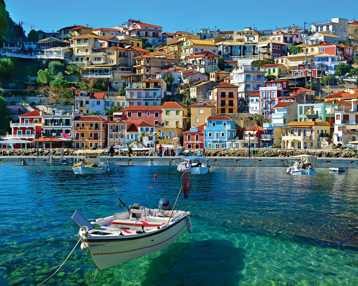 Parga, Greece Greece Jigsaw Puzzle