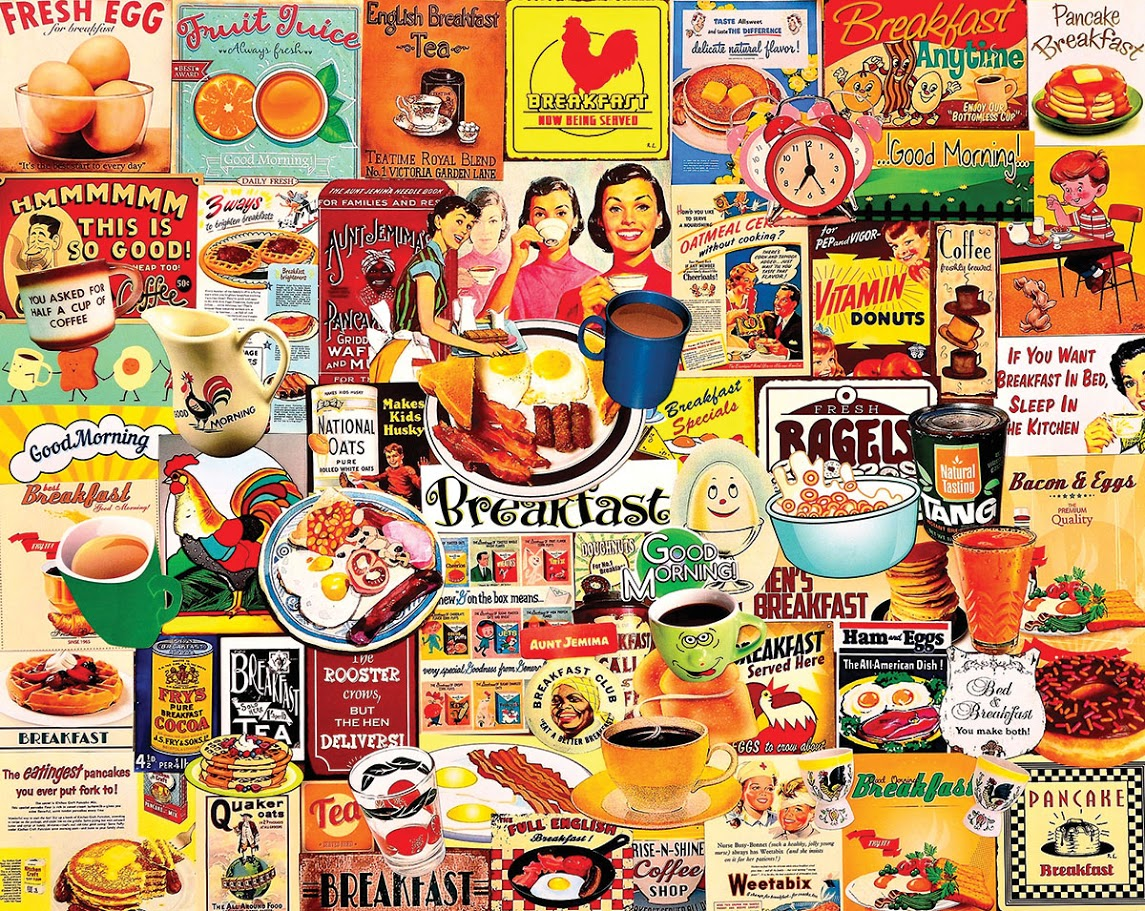 Breakfast - Scratch and Dent Food and Drink Jigsaw Puzzle