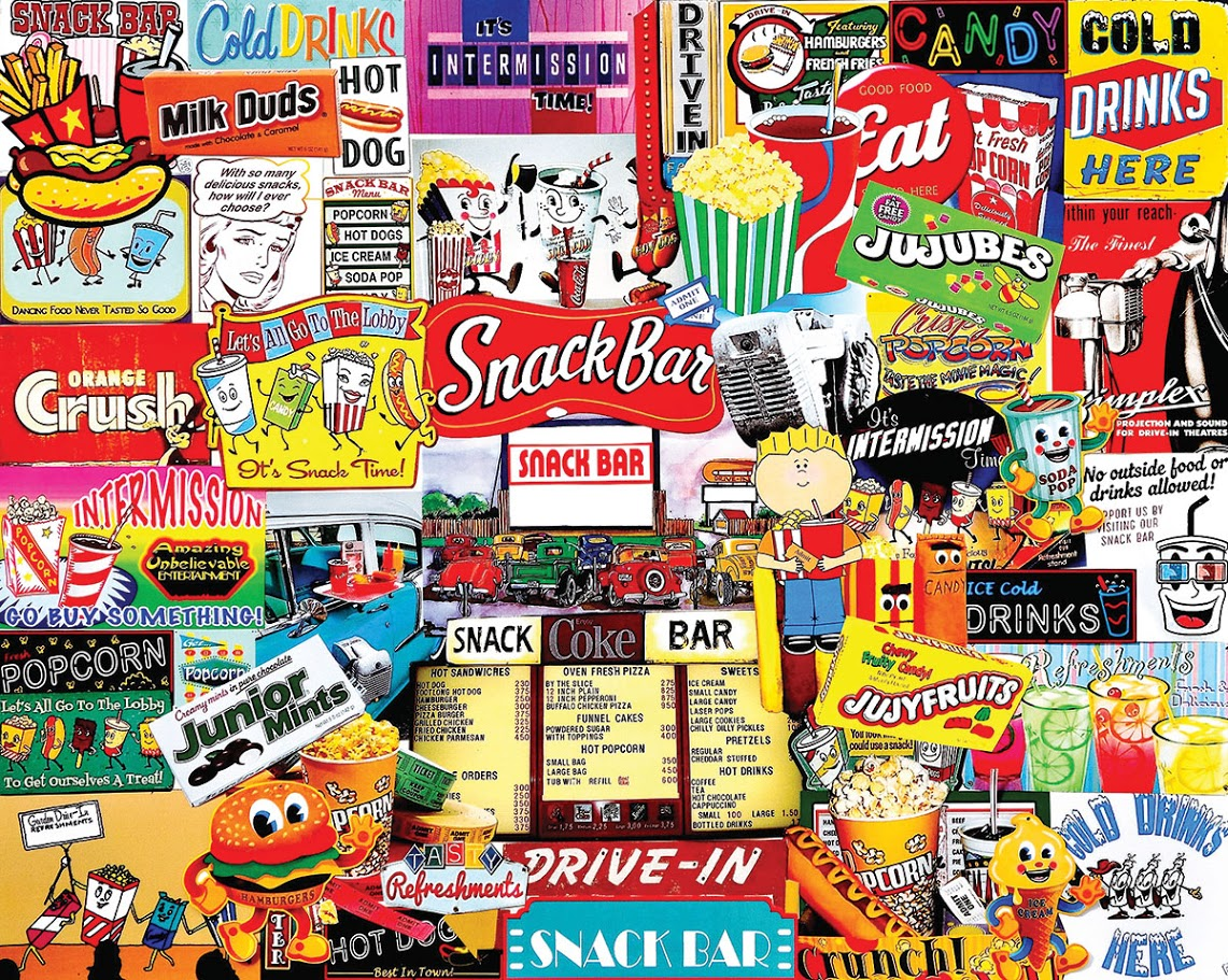 Snack Bar Jigsaw Puzzle | PuzzleWarehouse.com