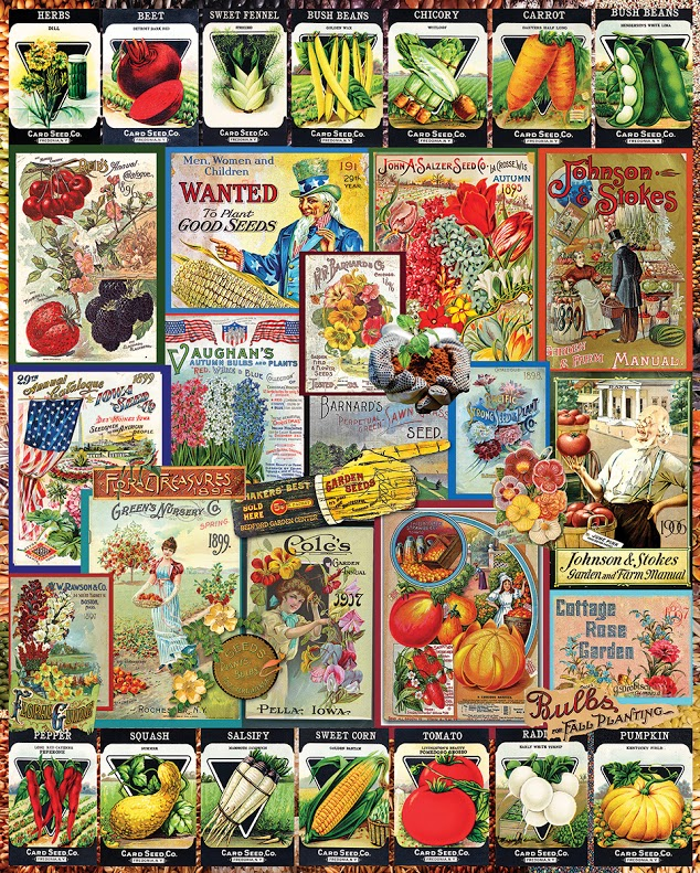 Garden Seeds Food and Drink Jigsaw Puzzle