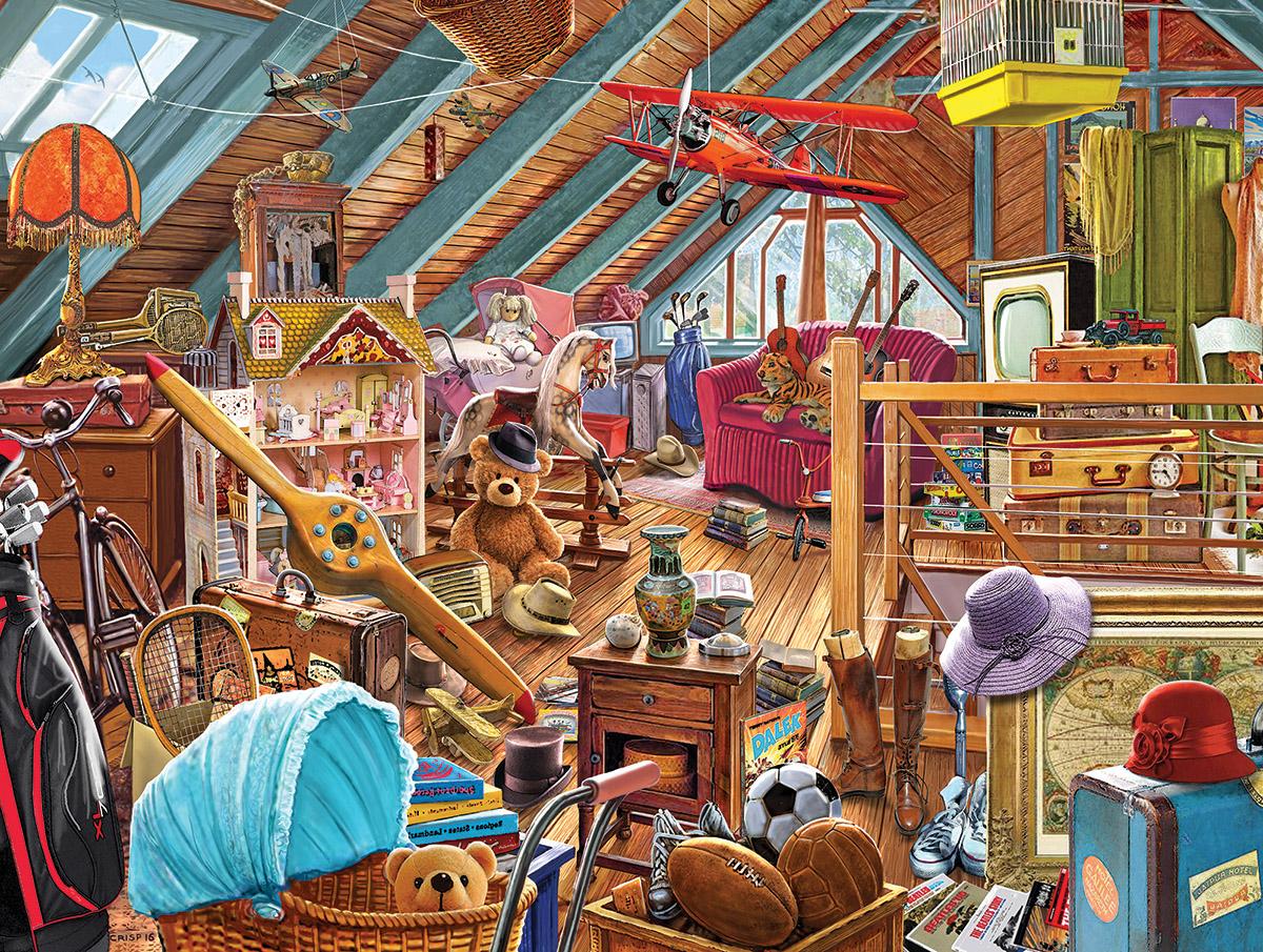 Attic Memories Nostalgic / Retro Jigsaw Puzzle