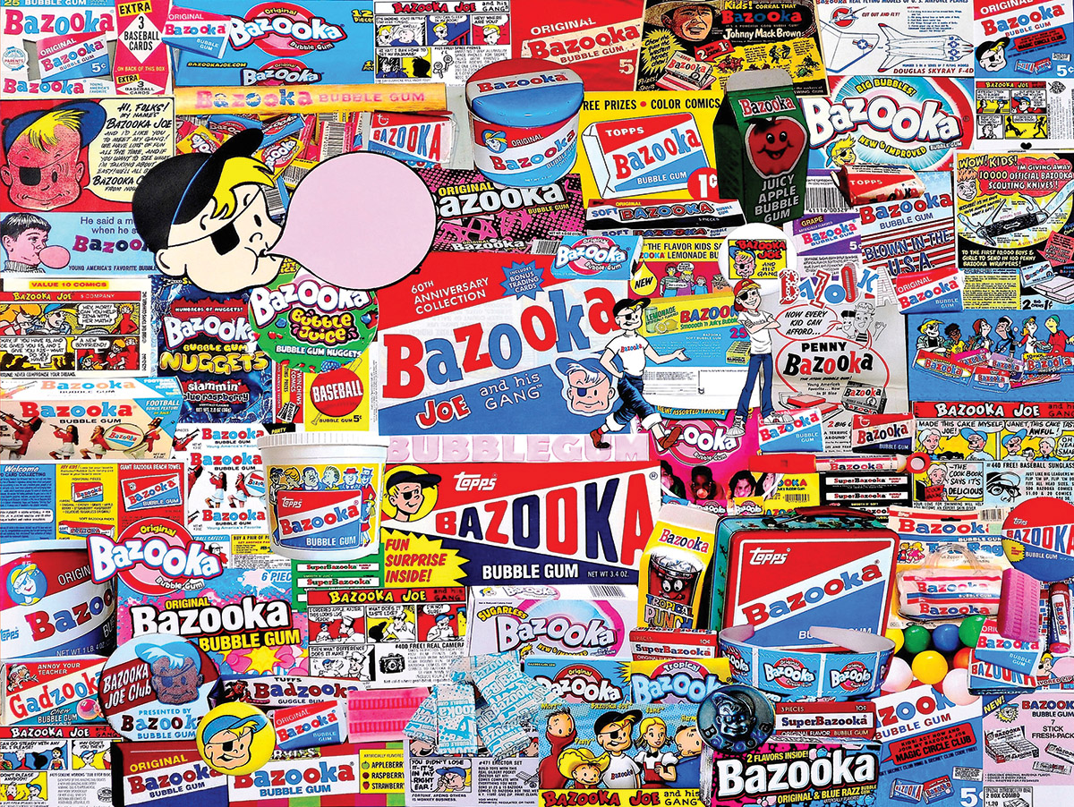Bazooka Food and Drink Jigsaw Puzzle
