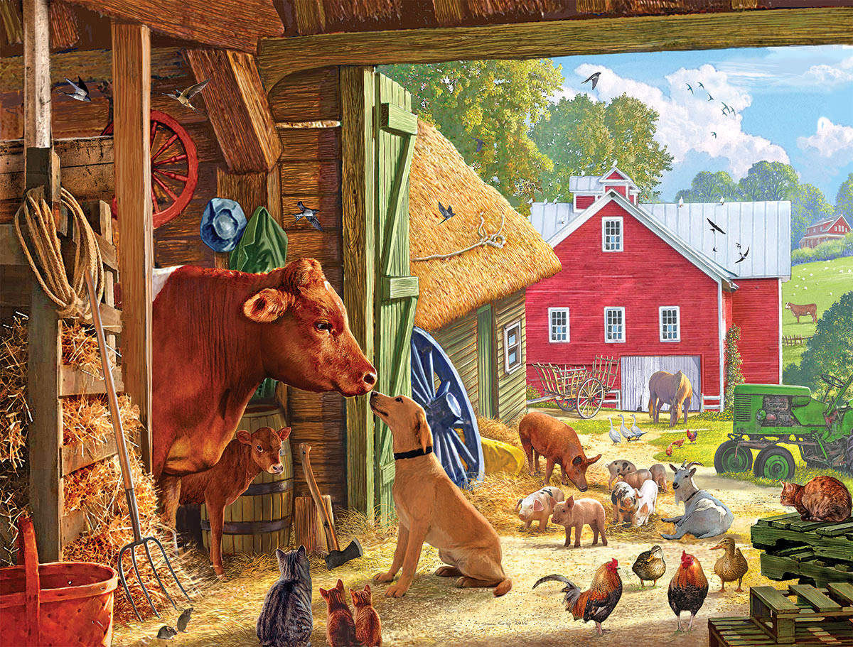 Barnyard Buddies - Scratch and Dent Farm Jigsaw Puzzle
