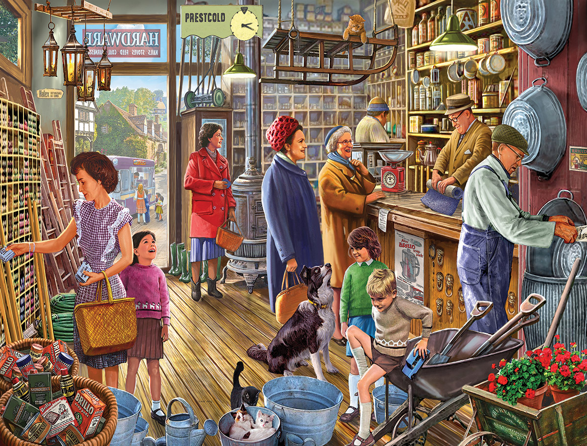 The Hardware Store Nostalgic / Retro Jigsaw Puzzle