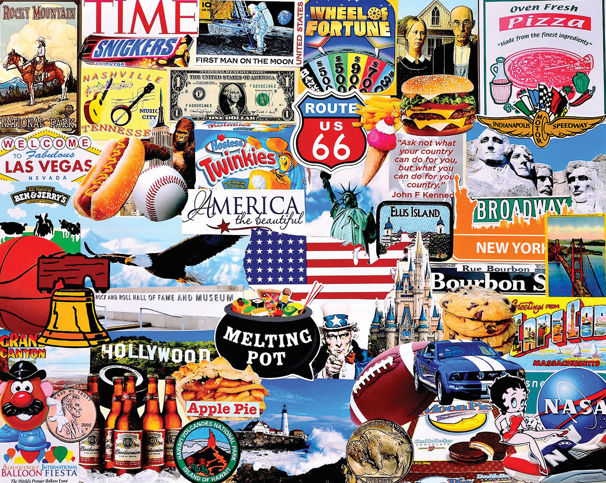 I Love America United States Jigsaw Puzzle