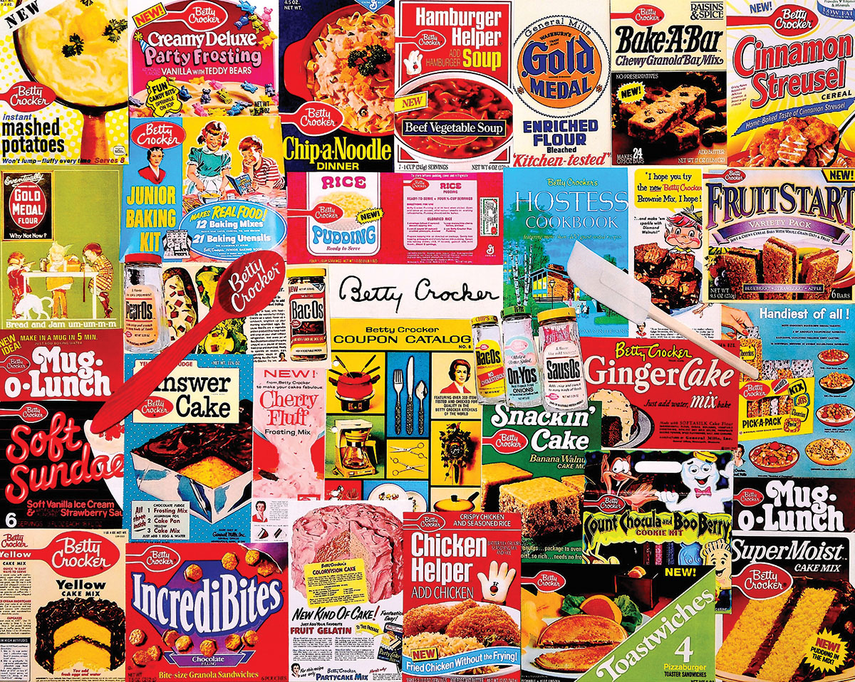 Betty Crocker Nostalgic / Retro Jigsaw Puzzle