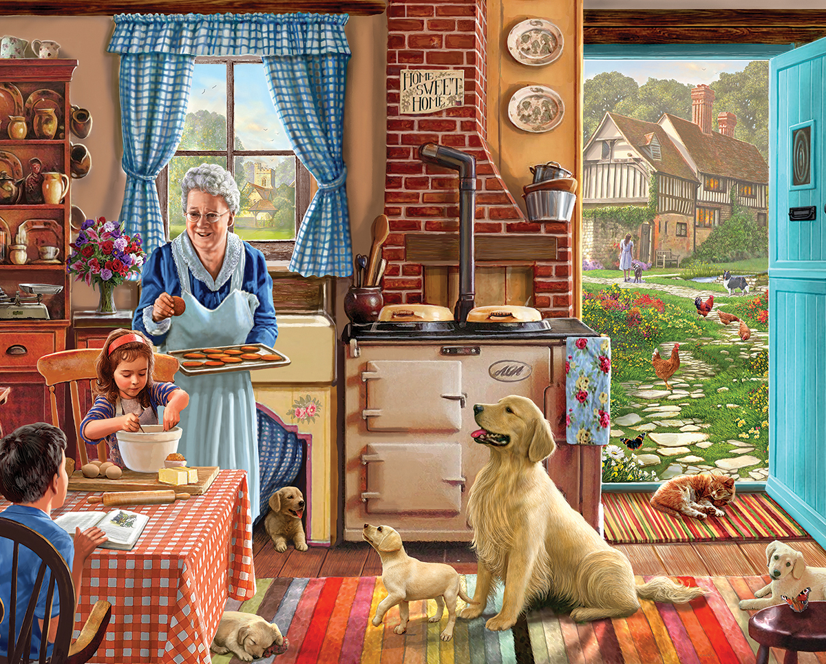 Cozy Kitchen Farm Jigsaw Puzzle