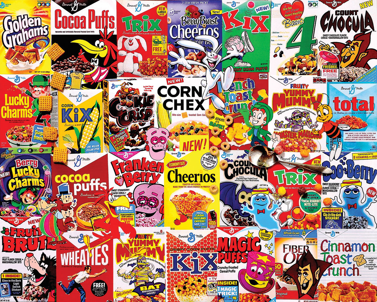 I Love Cereal Food and Drink Jigsaw Puzzle