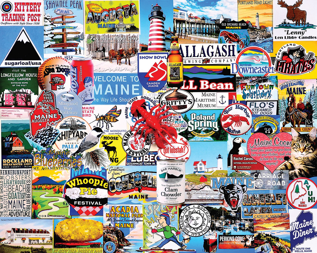 I Love Maine Jigsaw Puzzle | PuzzleWarehouse.com