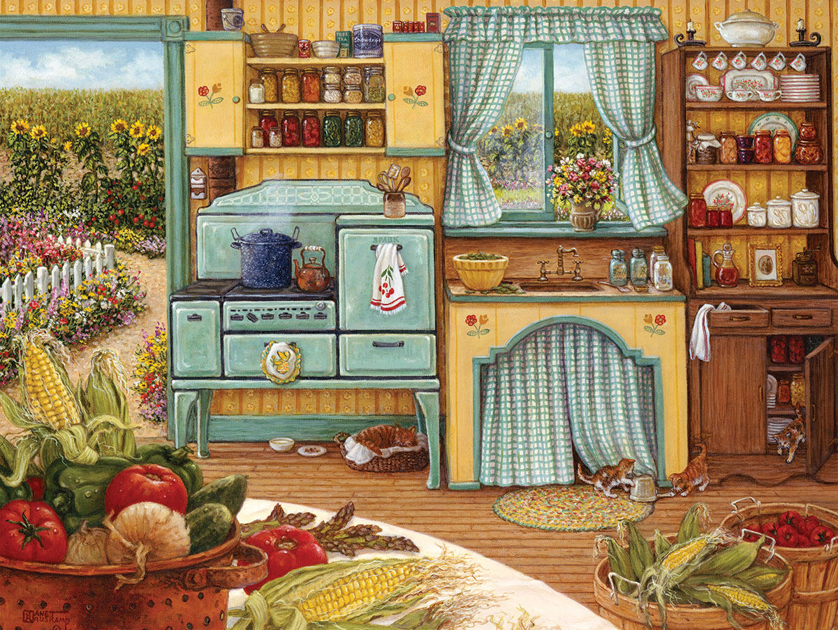 Country Kitchen - Scratch and Dent Farm Jigsaw Puzzle