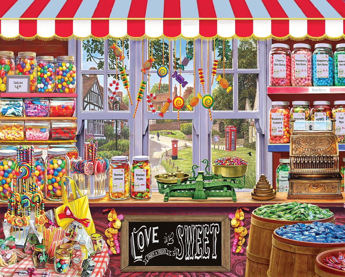 Sweetshop Jigsaw Puzzle Puzzlewarehouse Com