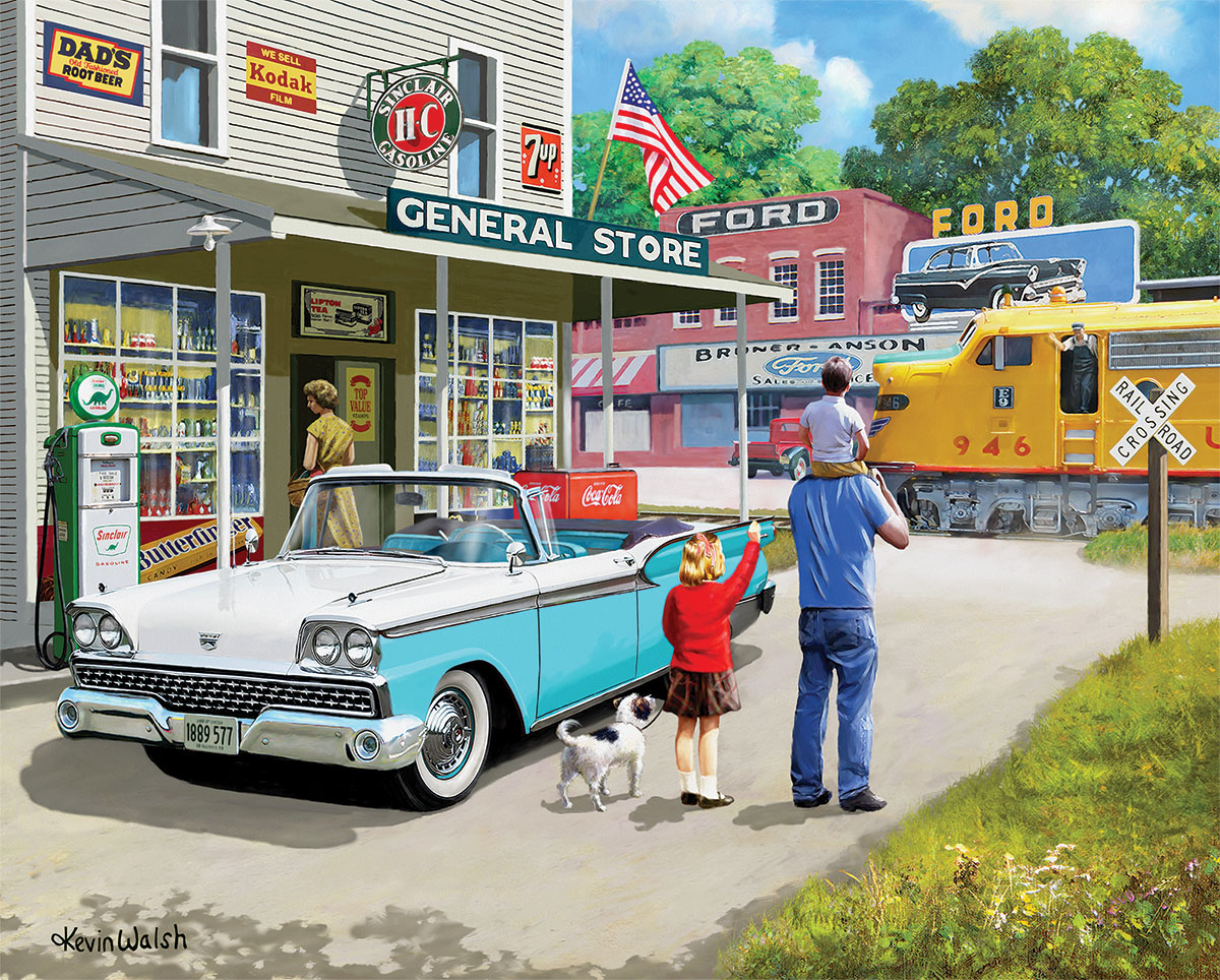American Classics - Scratch and Dent Nostalgic / Retro Jigsaw Puzzle