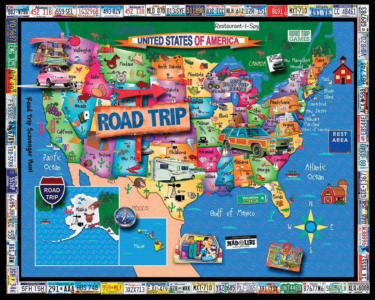 Family Vacation Travel Jigsaw Puzzle