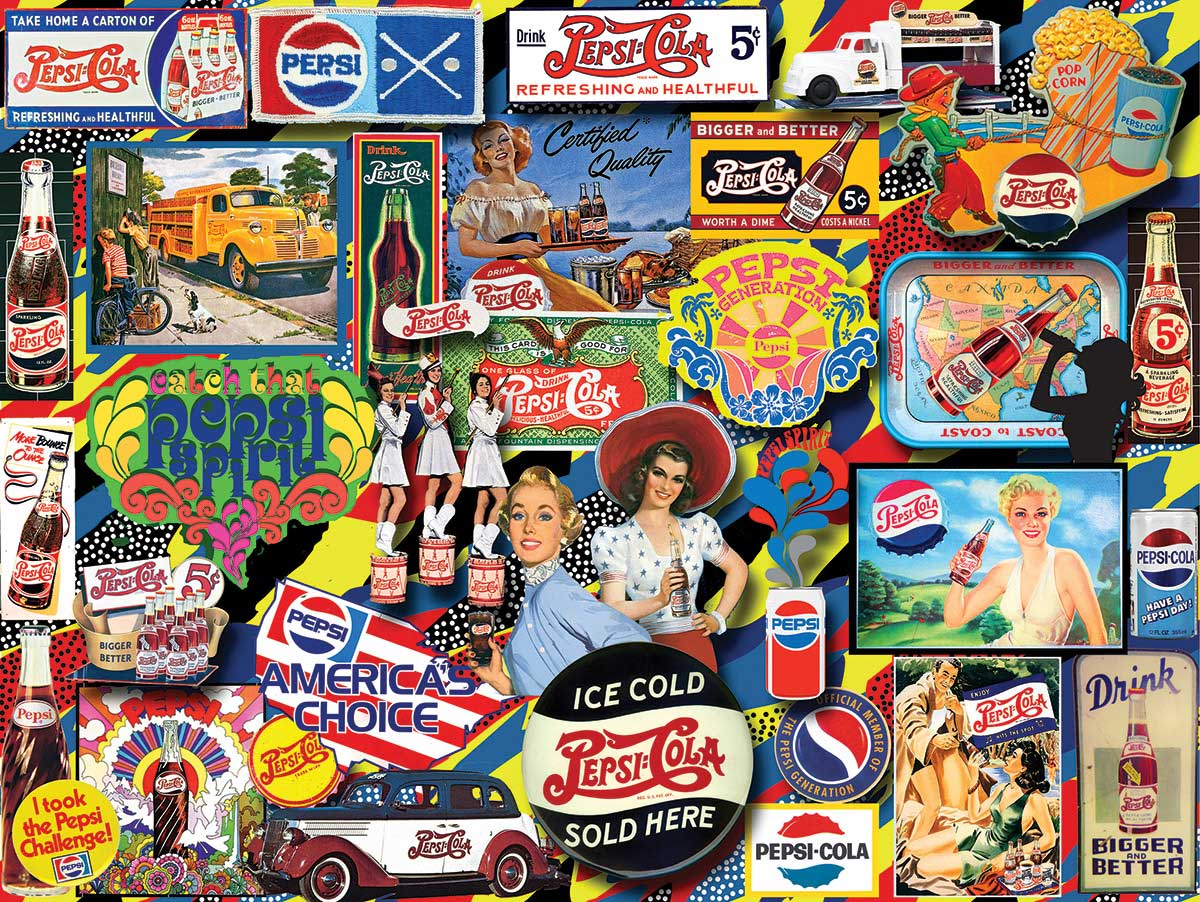 Vintage Pepsi Food and Drink Jigsaw Puzzle