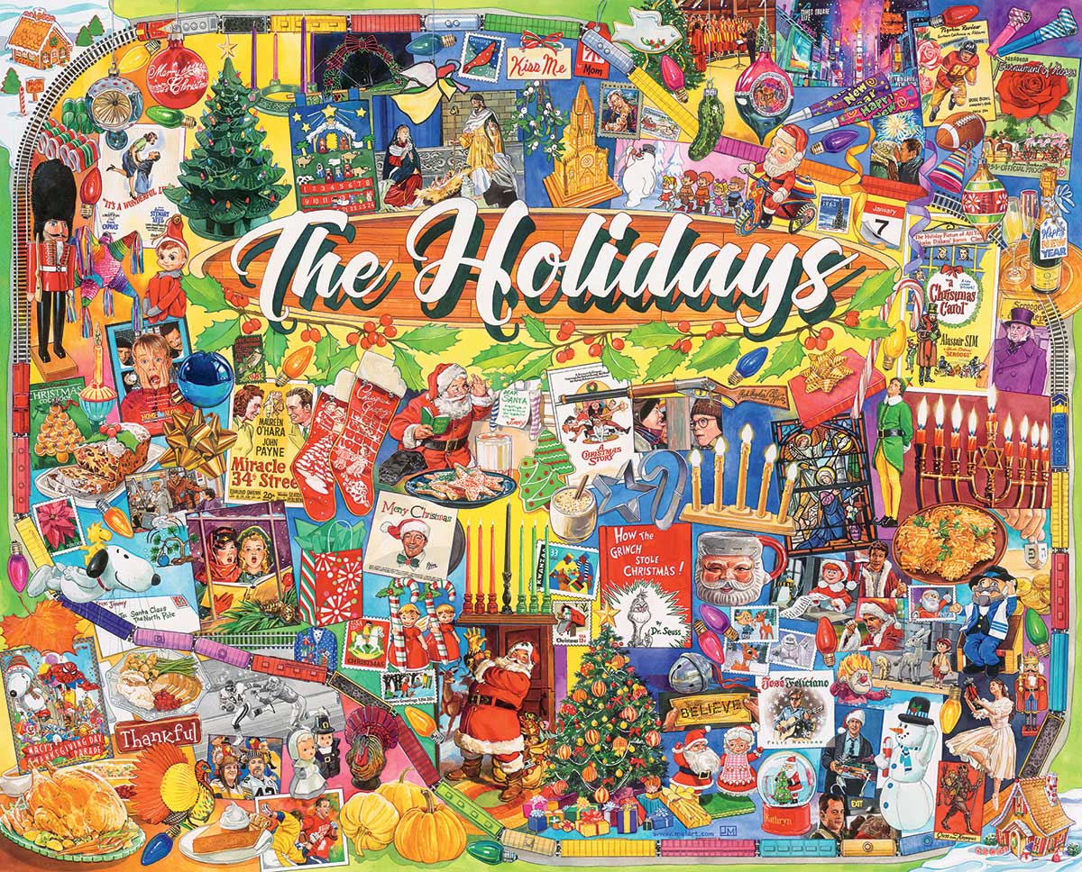 The Holidays Thanksgiving Jigsaw Puzzle