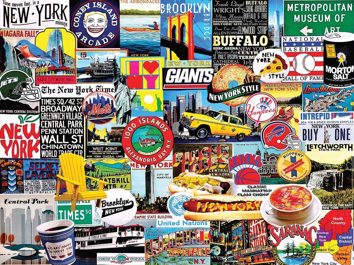 New York New York New York Jigsaw Puzzle