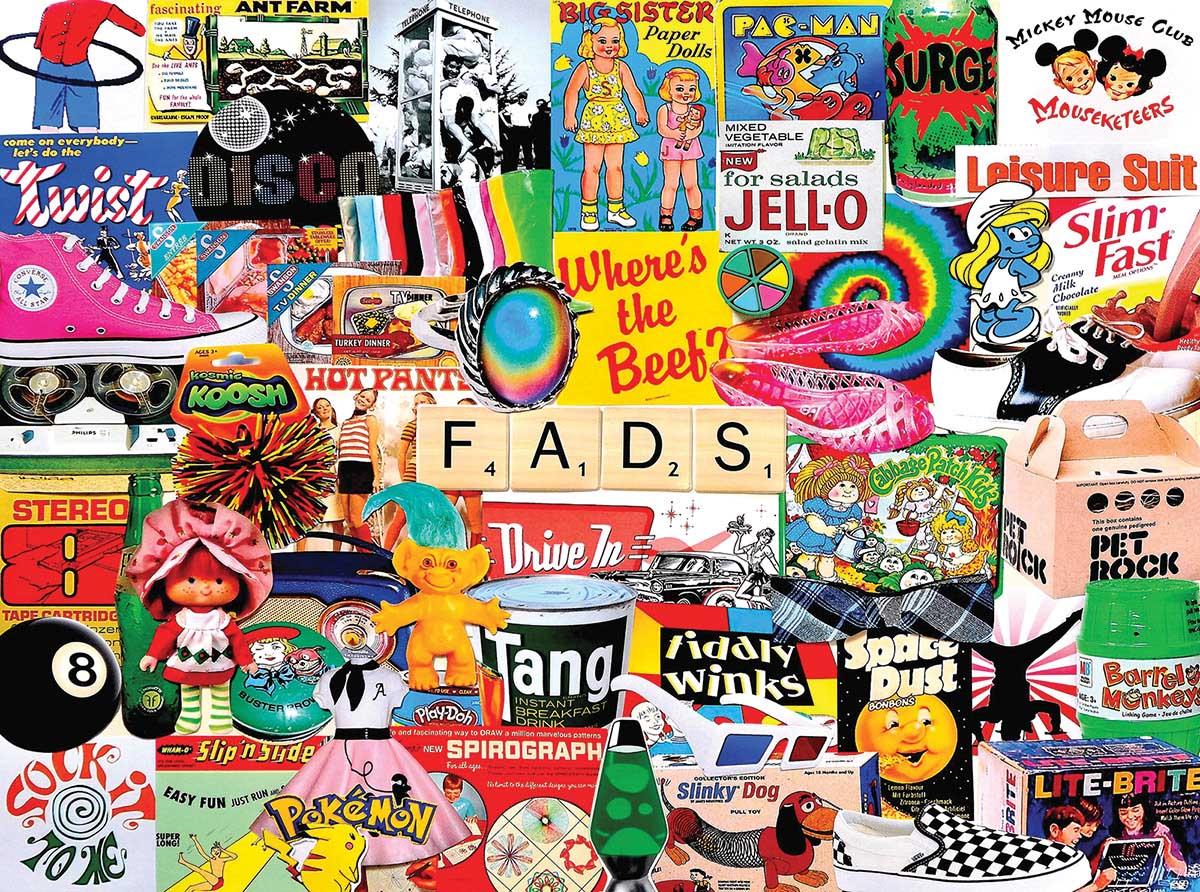 Fads Nostalgic / Retro Jigsaw Puzzle