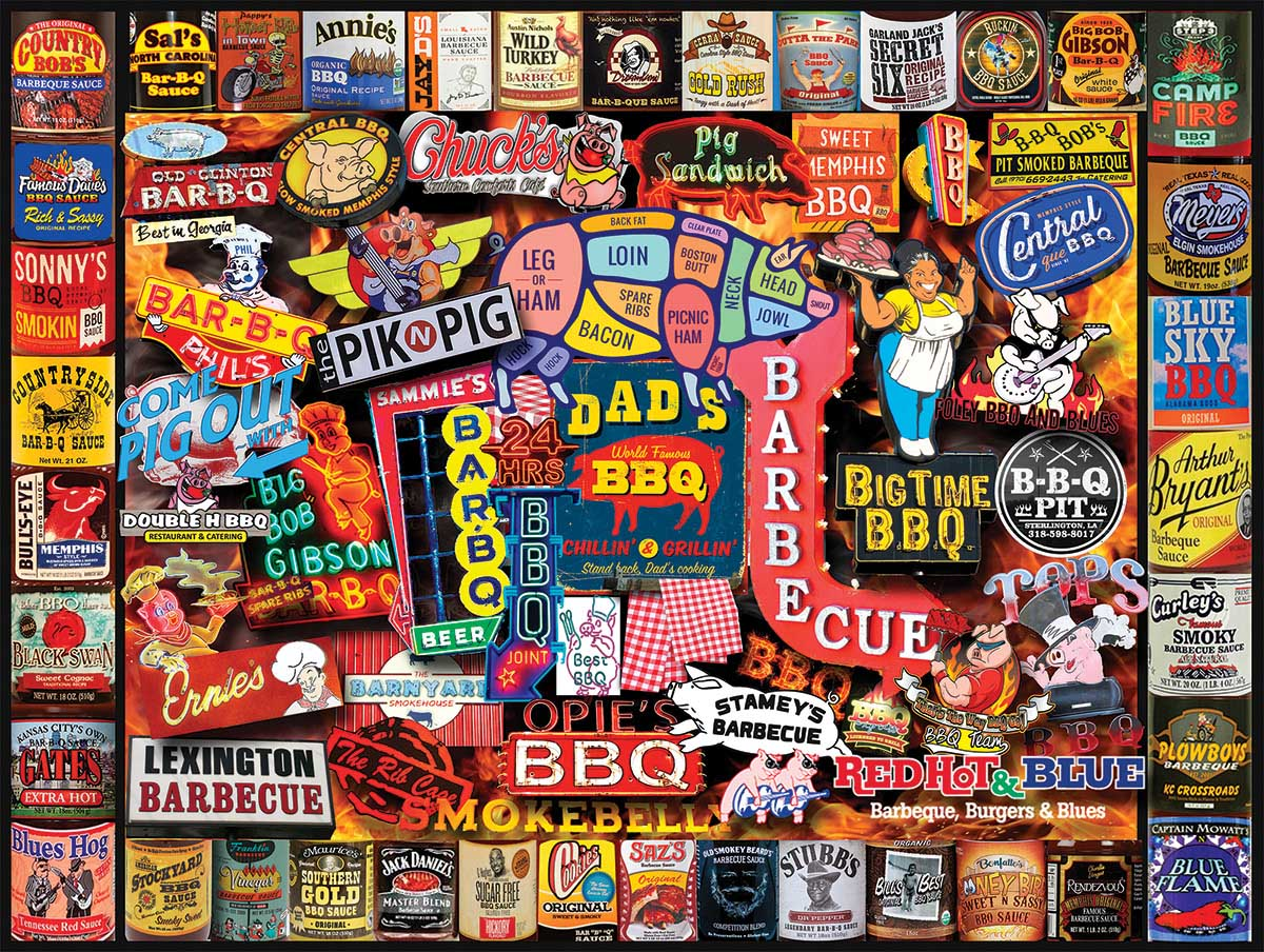 Barbecue Food and Drink Jigsaw Puzzle