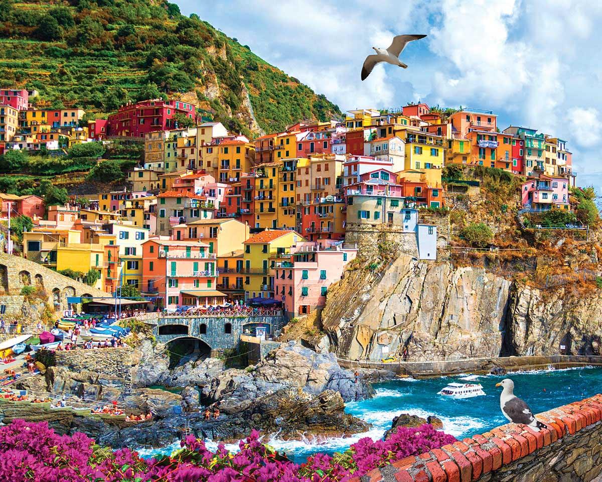 Cinque Terre, Italy Travel Jigsaw Puzzle