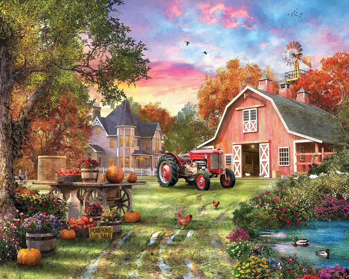 Farm Life Farm Jigsaw Puzzle