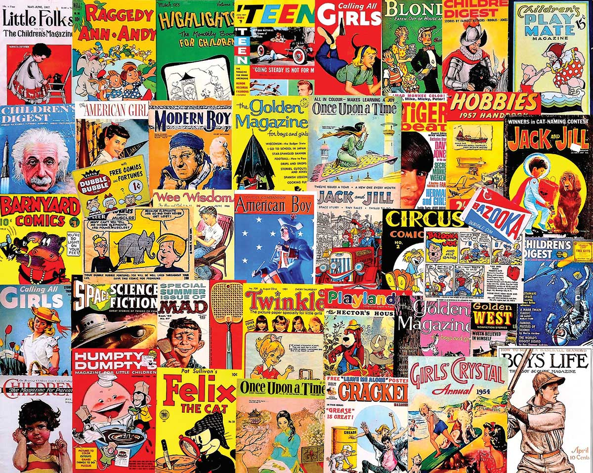 Things I Read as a Kid Movies / Books / TV Jigsaw Puzzle
