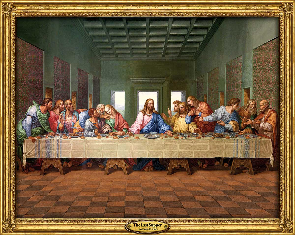 Last Supper Fine Art Jigsaw Puzzle