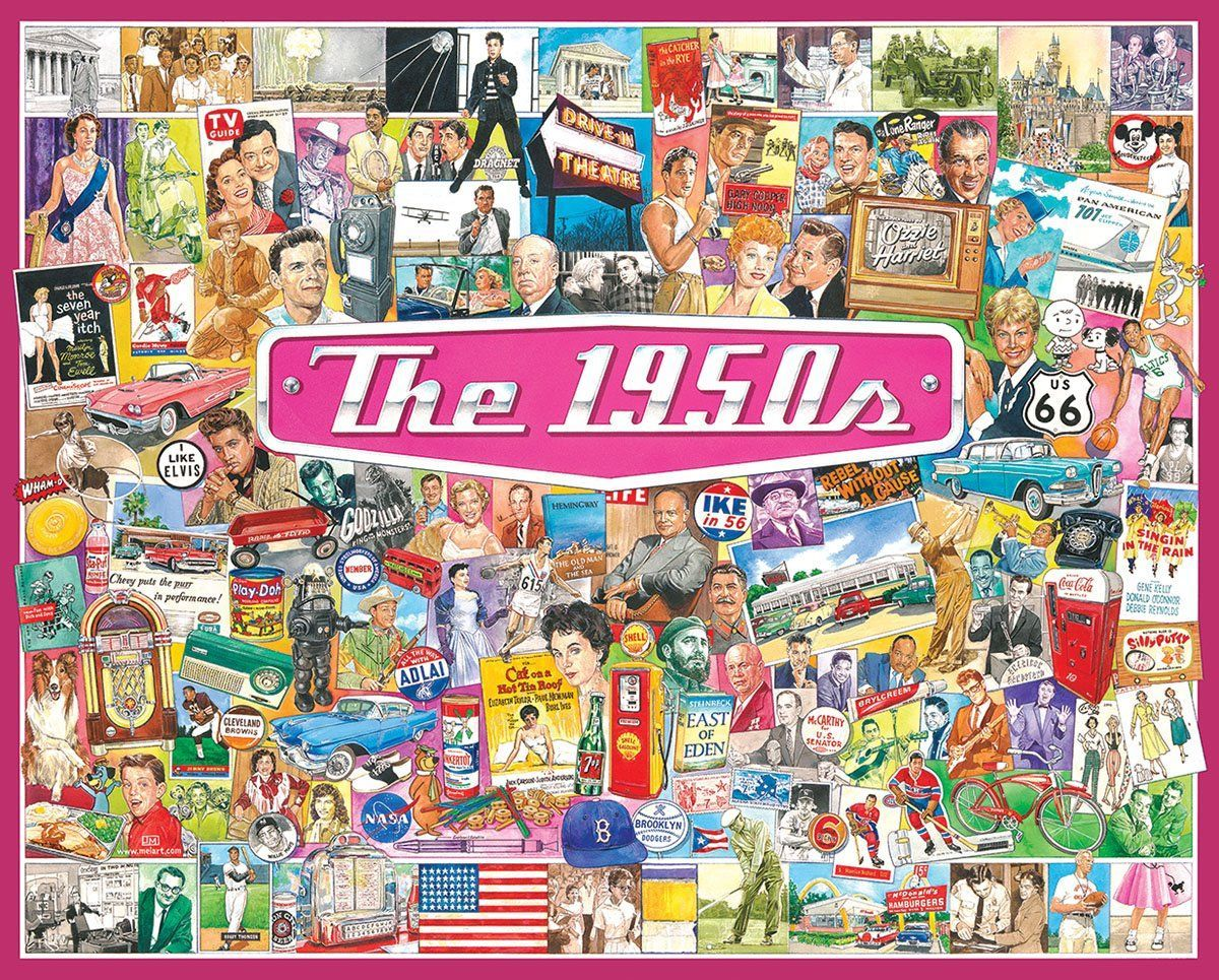 The 1950s Nostalgic / Retro Jigsaw Puzzle