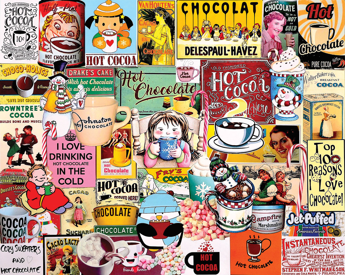 Hot Cocoa Food and Drink Jigsaw Puzzle