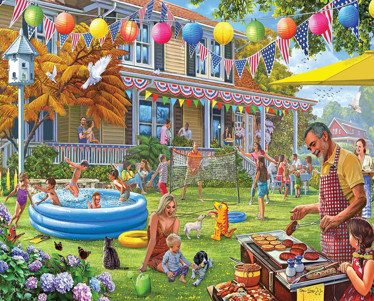Backyard BBQ Summer Jigsaw Puzzle