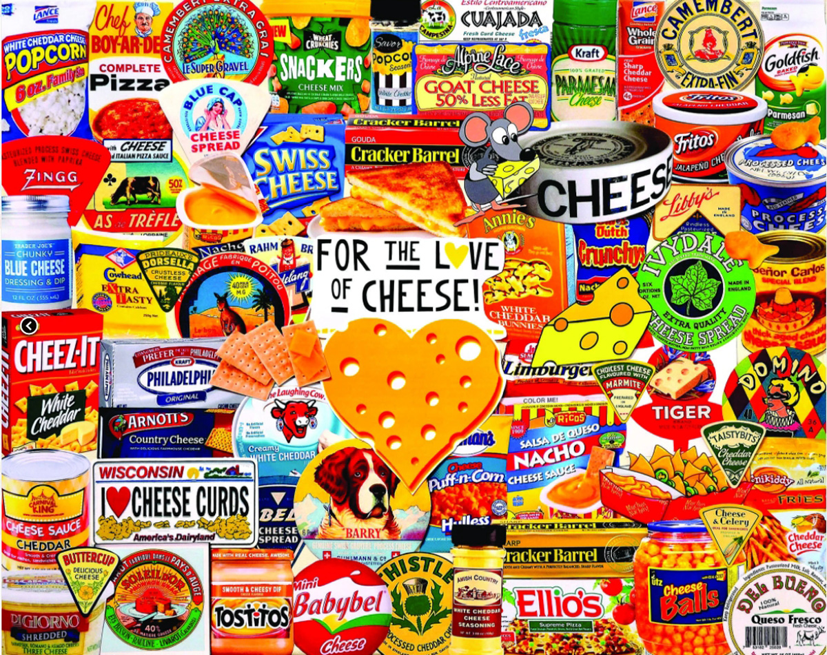 I Love Cheese Food and Drink Jigsaw Puzzle