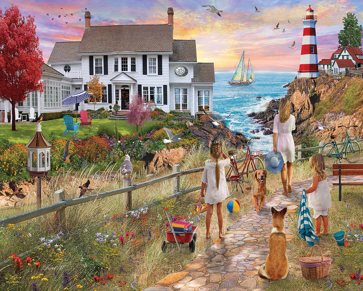 Beach Path Beach Jigsaw Puzzle