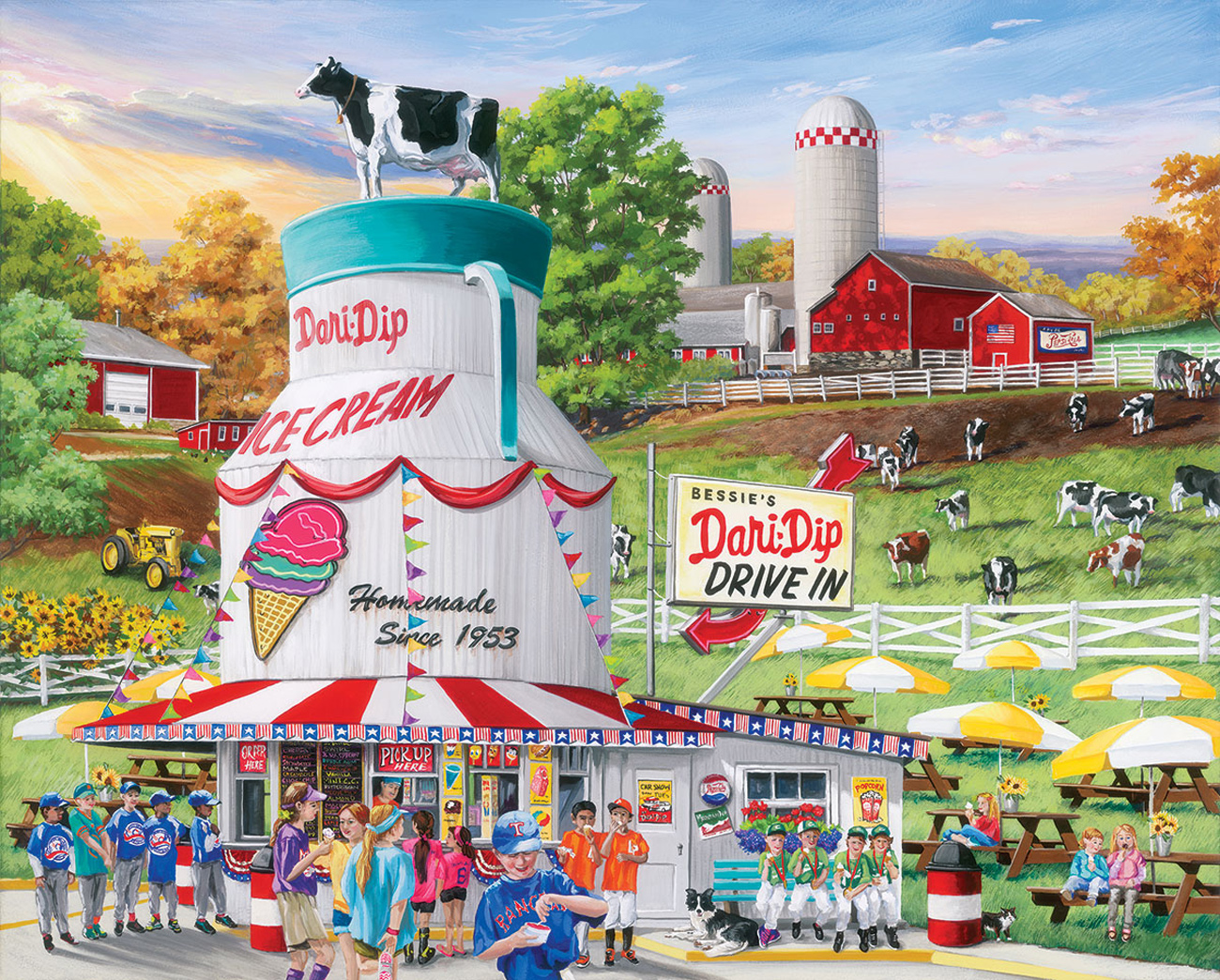 Dairy Bar - Scratch and Dent Food and Drink Jigsaw Puzzle