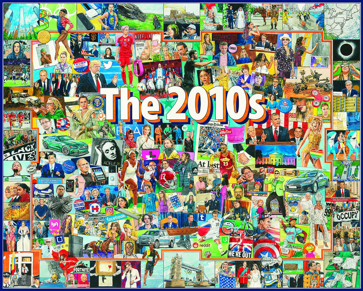 The 2010s People Jigsaw Puzzle