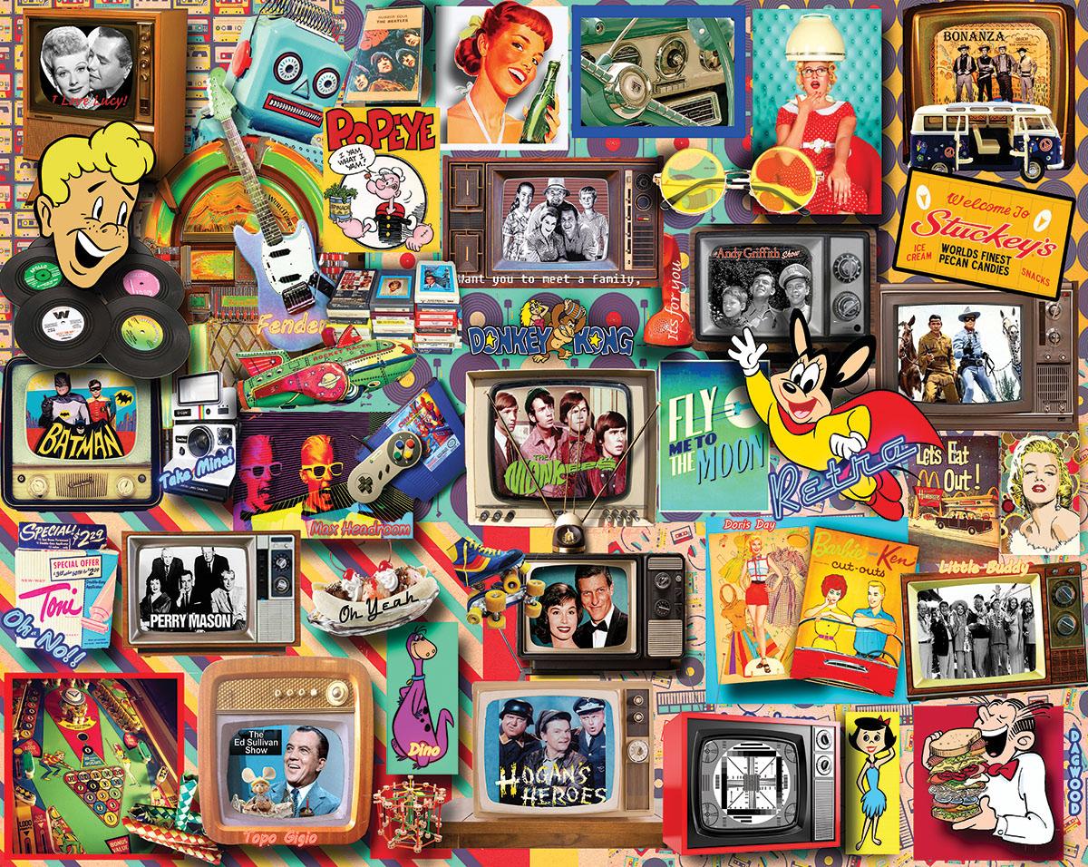 Memory Lane Nostalgic / Retro Jigsaw Puzzle