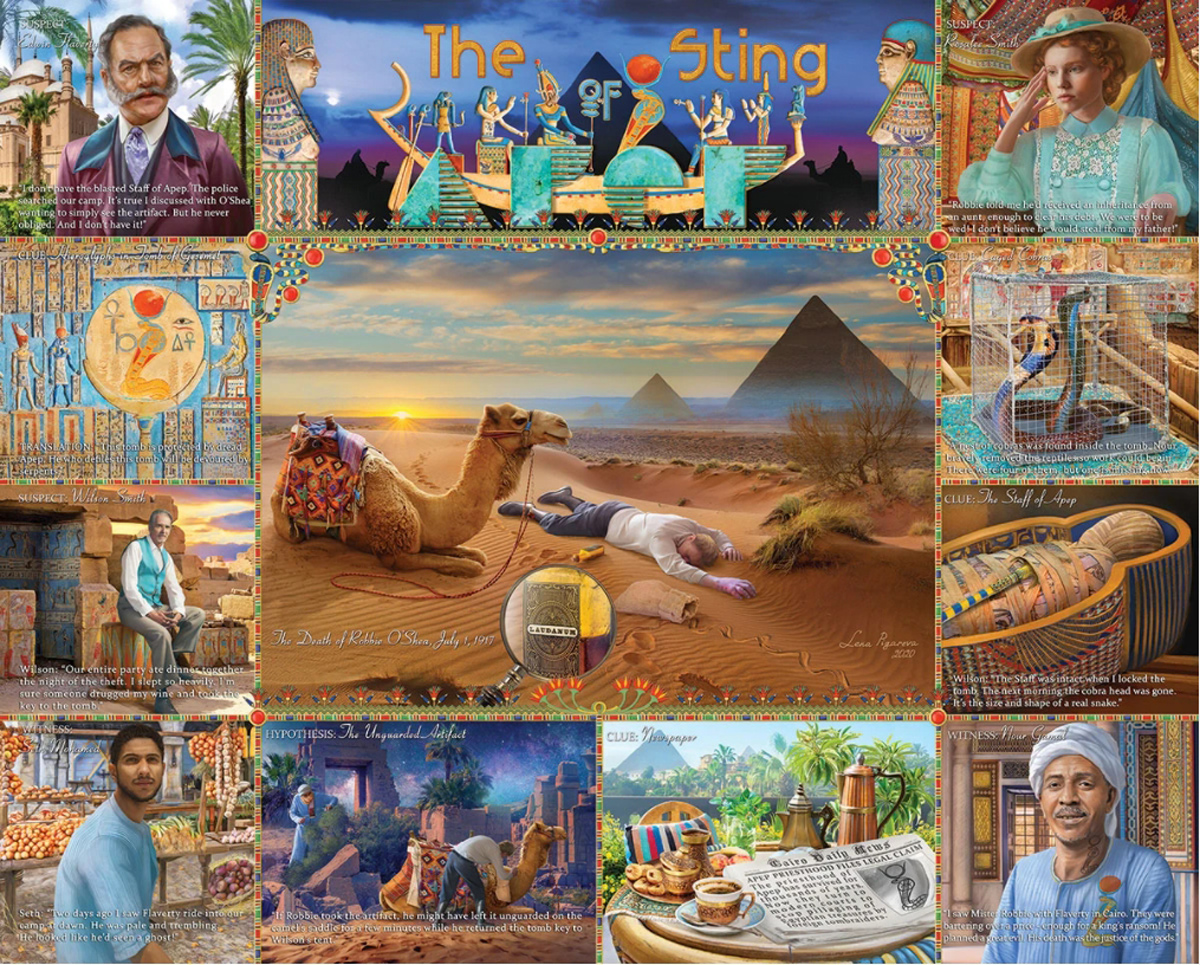 The Sting of APEP Travel Jigsaw Puzzle