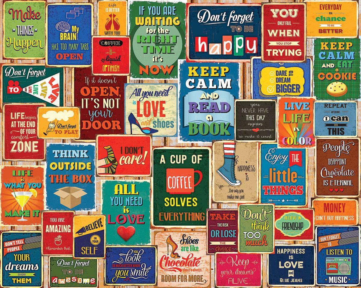 Words Of Wisdom Inspirational Jigsaw Puzzle