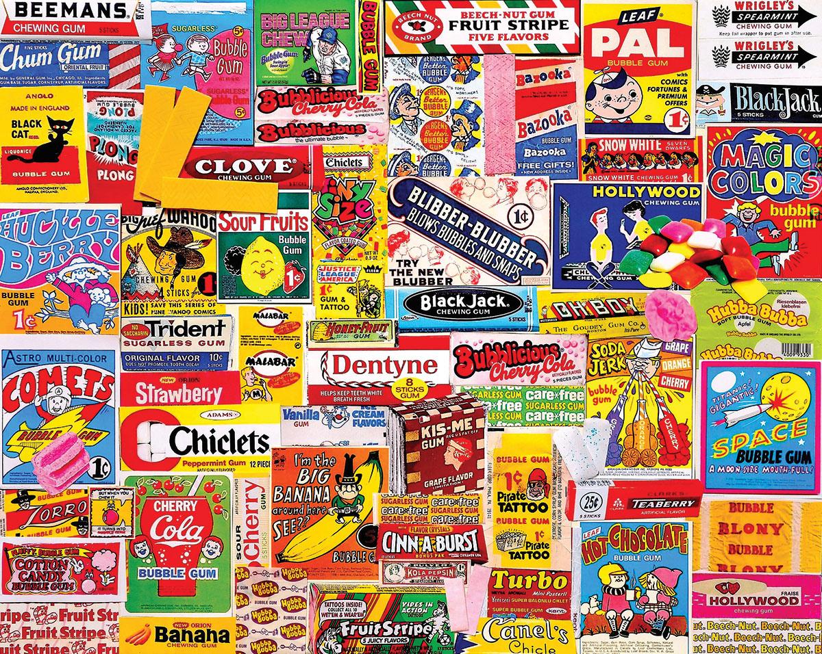 Gum Nostalgic / Retro Jigsaw Puzzle