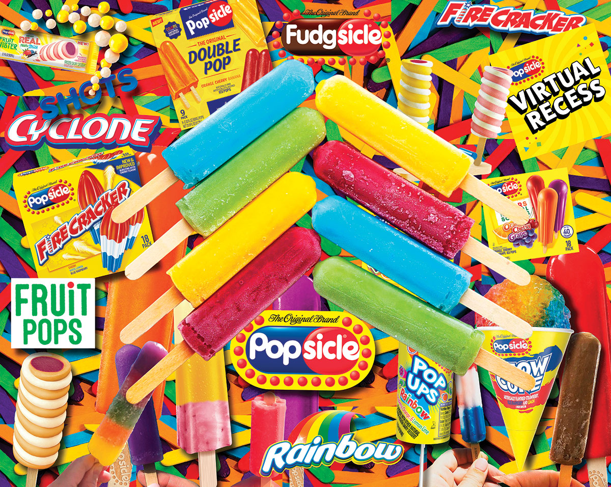 Popsicles Food and Drink Jigsaw Puzzle