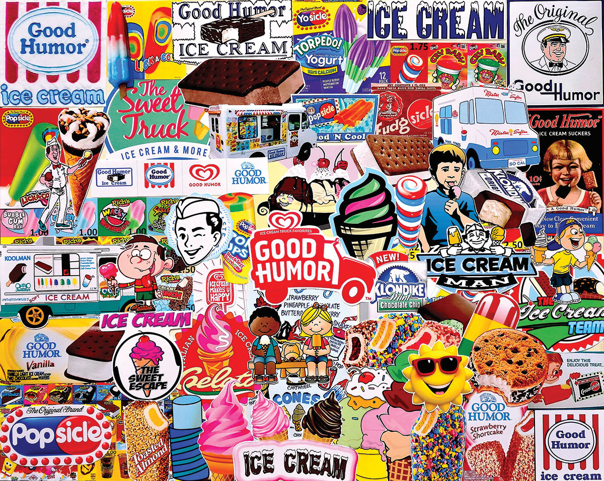 Good Humor Food and Drink Jigsaw Puzzle