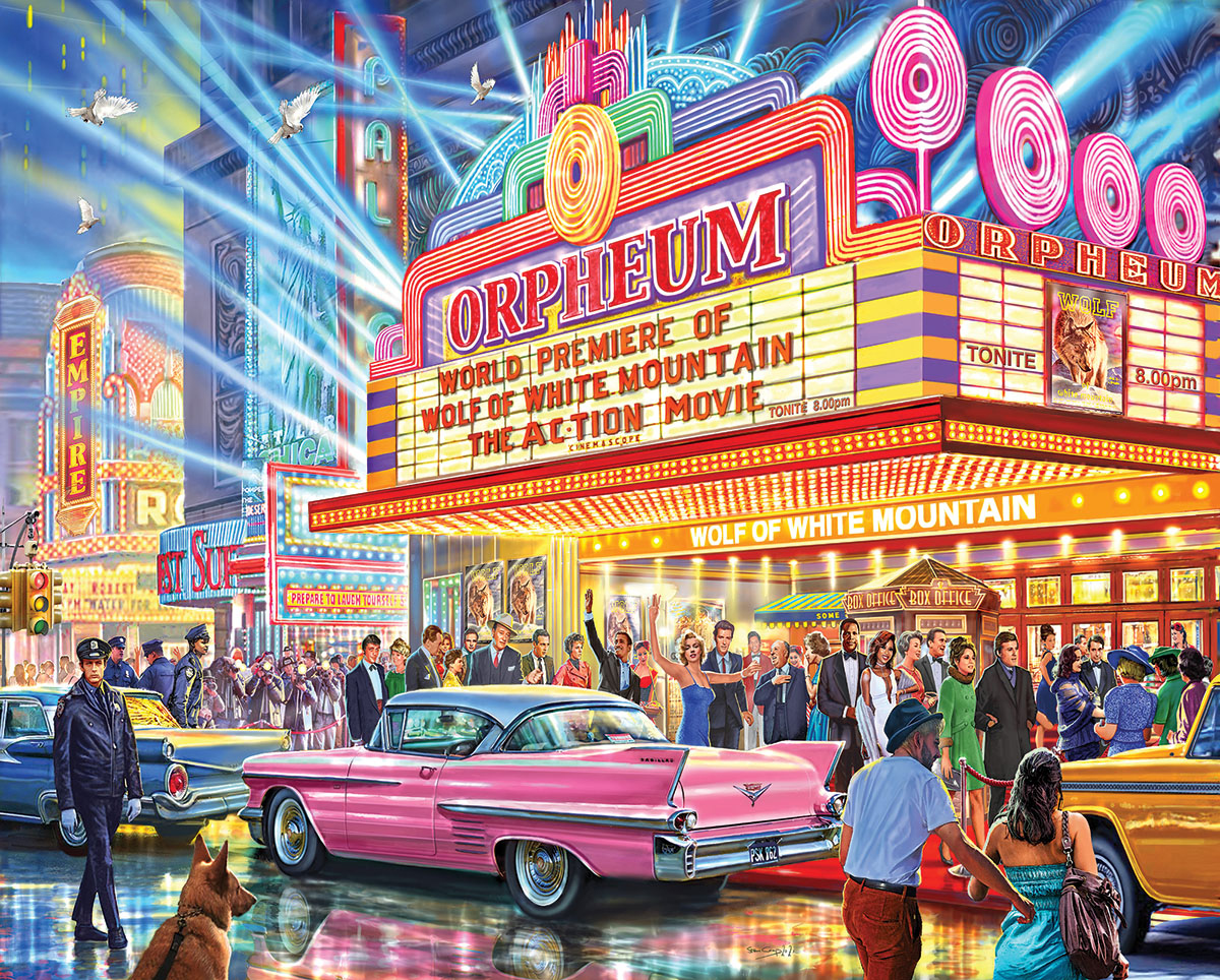 Hollywood Premier Movies / Books / TV Jigsaw Puzzle