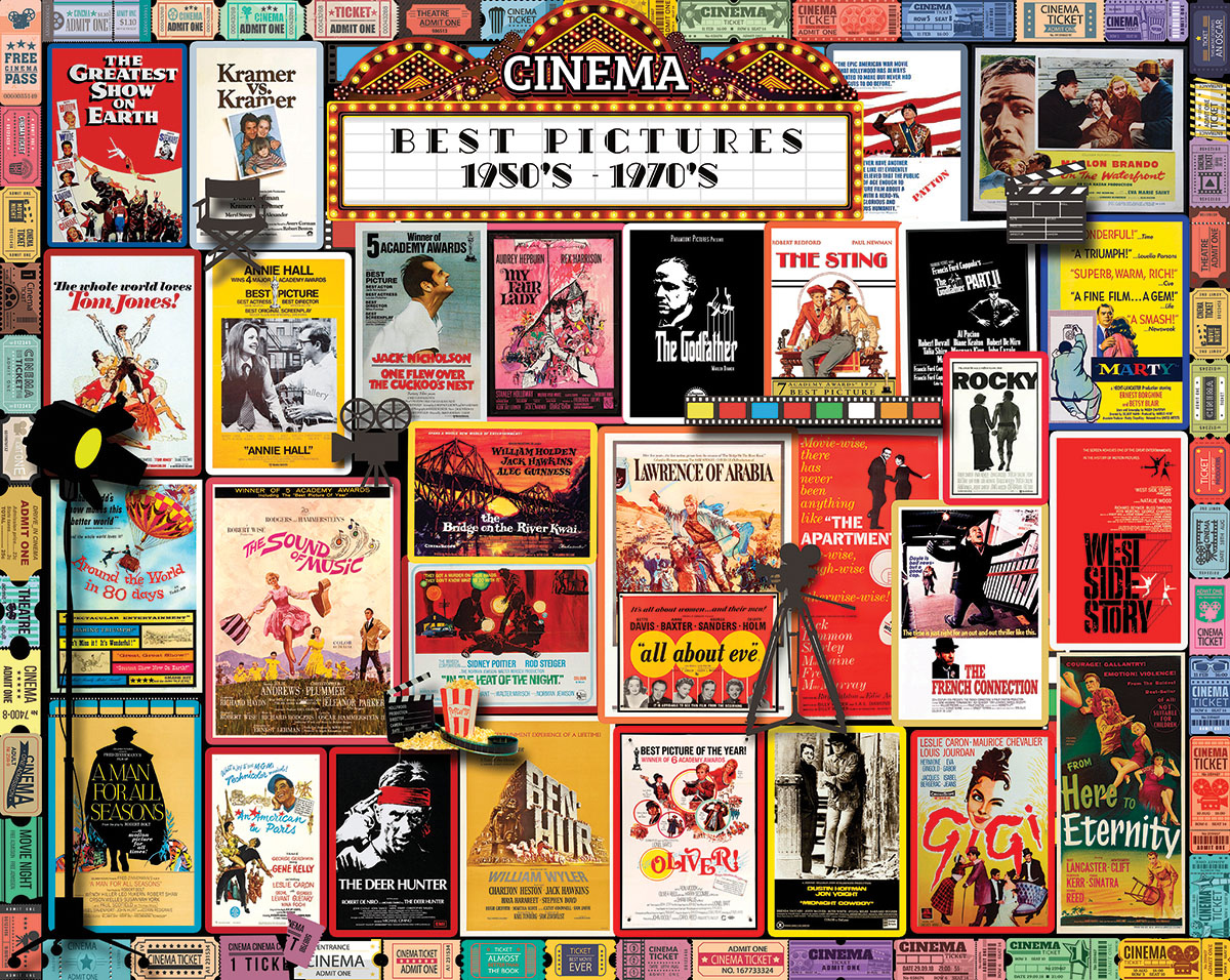 Best Pictures Movies / Books / TV Jigsaw Puzzle