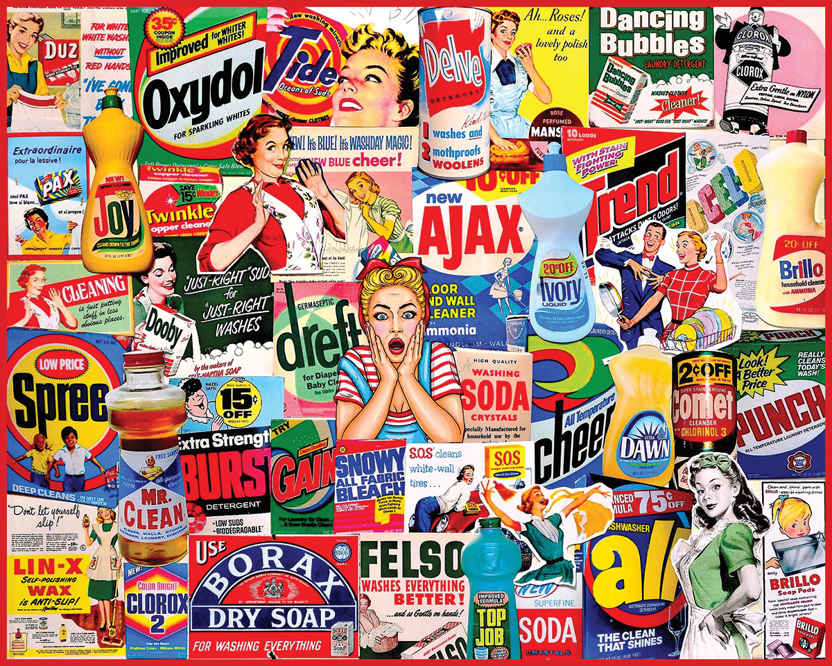 Great Old Signs Nostalgic / Retro Jigsaw Puzzle