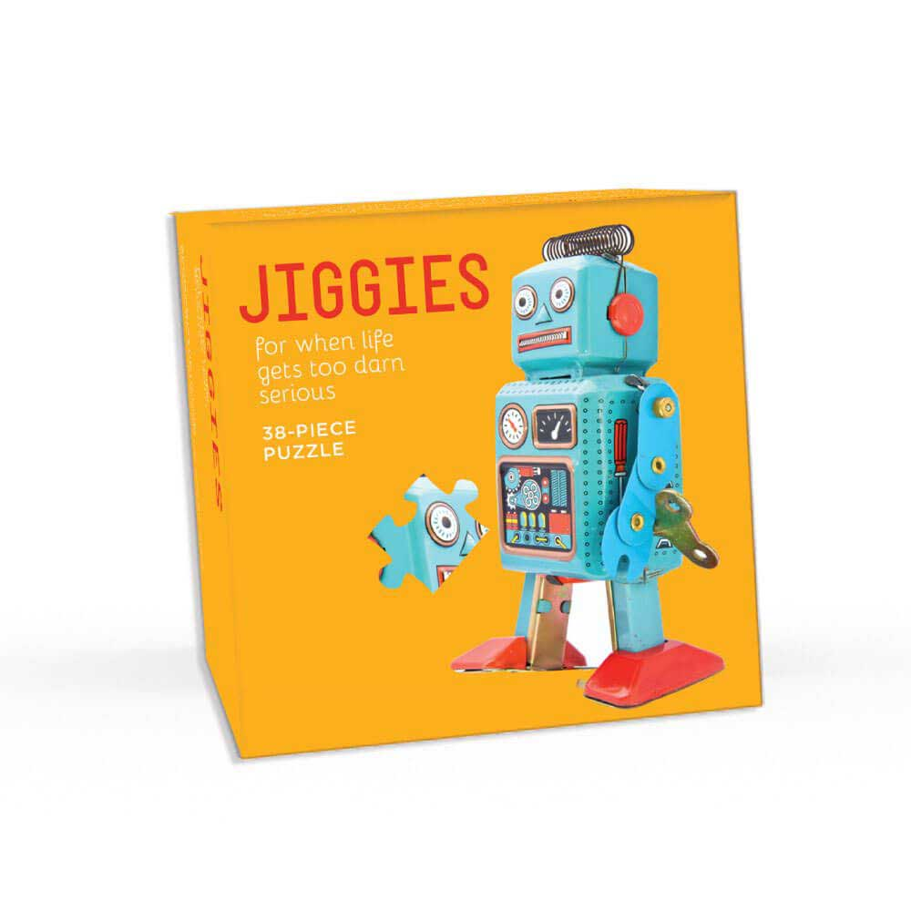 I Am Your Future Robots Shaped Puzzle