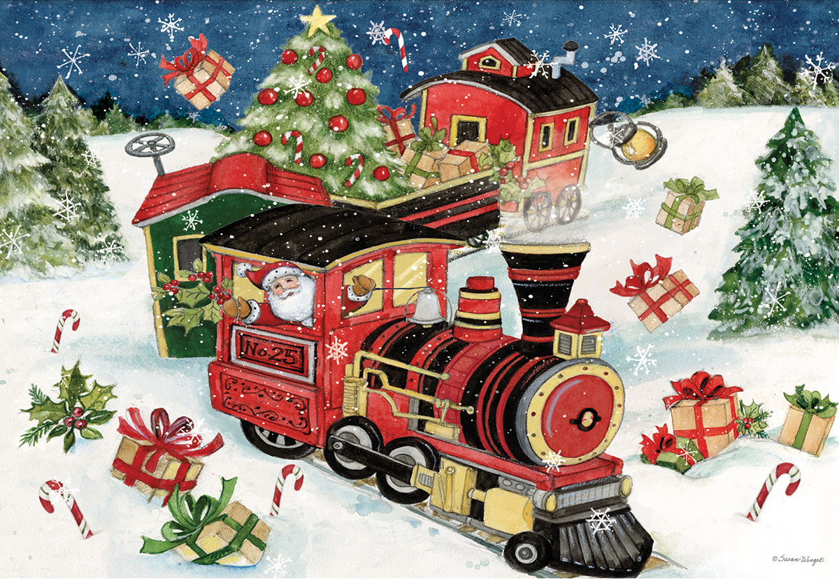 All Aboard Trains Jigsaw Puzzle