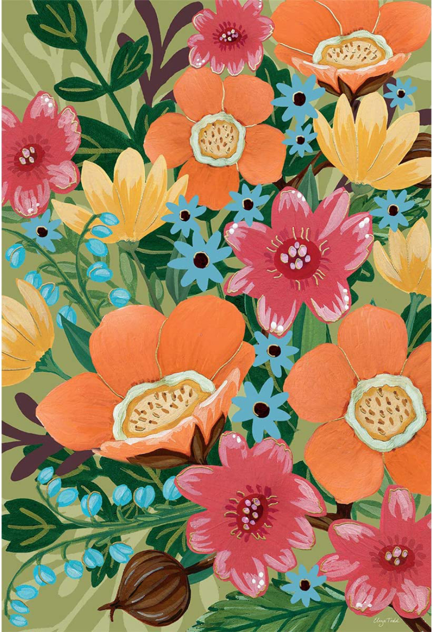 Bloom Flowers Jigsaw Puzzle